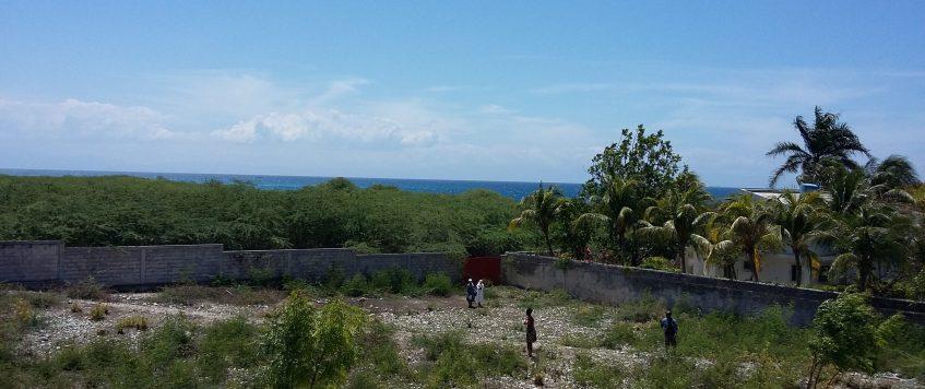 terreno panoramica verso il mare